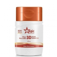 MAGIC COLOR MATIZ 100ML GLOSS 3D RUIVO SENSATION