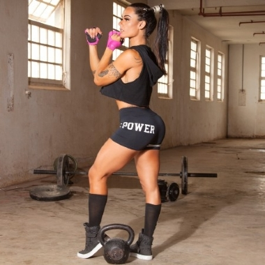 Short Fitness Sport Power