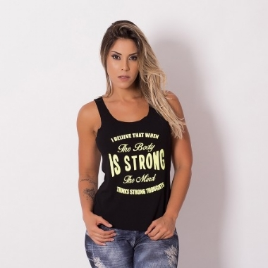 Camiseta Fitness Strong