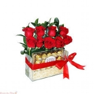 kit 12 rosas ferrero rocher 08