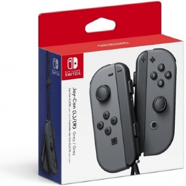 NINTENDO SWITCH JOY-CON L/R CINZA