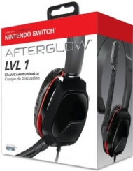 NINTENDO SWITCH HEADSET AFTERGLOW LVL 1