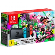 CONSOLE NINTENDO SWITCH 32GB BUNDLE SPLATOON 2