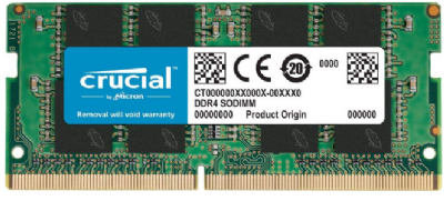 Memoria para notebook Crucial   8gb ddr3 1600