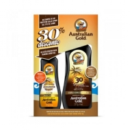 KIT AUSTRALIAN GOLD PROTETOR SOLAR FPS 30 237ML+ BRONZEADOR 125ML