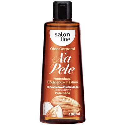 SALON LINE NA PELE OLEO CORP 100ML AMENDOAS
