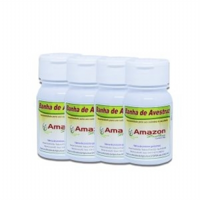 Kit 4 Banha de Avestruz 60g Amazon Struthio