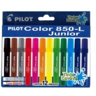 Caneta Hidrogáfica Pilot Color 850-L Junior c/12 cores