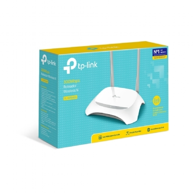 Roteador Wireless 300mbps Tp-link Tl-wr 849n Wifi Ver 5.0
