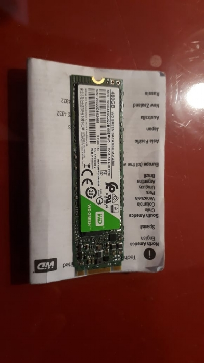 HD SSD m2. 2280 wd Green